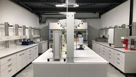 vue de Geos Laboratories Lyon intérieur